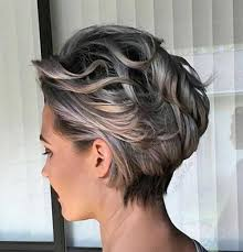 backside of short haircuts pics best 25 short grey haircuts ideas on pinterest where does grey