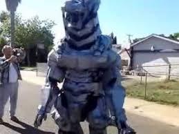 Godzilla Halloween Costumes Mecha Godzilla Costume Video 8 Complete