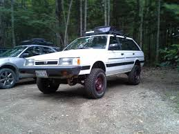 subaru justy lifted 1990 subaru loyale information and photos momentcar