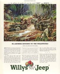 vintage jeep vintage jeep ad macarthur returns to the philippines the jeep