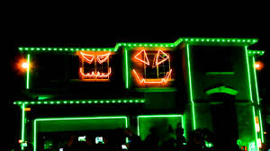 party rock anthem light show house halloween night youtube