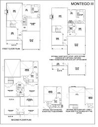 Elevation Floor Plan Montego Iii