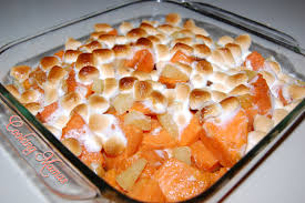 how to make thanksgiving yams with marshmallows