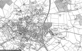 map of st albans maps of the st albans area francis frith