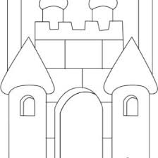 coloring castle kids drawing coloring pages marisa