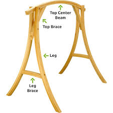 cypress wood swing stand replacement parts hatteras hammocks