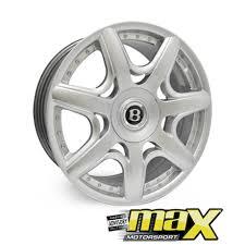 bentley wheels for sale 18 inch mag wheel bentley replica hyper silver 5x100 pcd