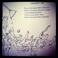 Light In The Attic Book Shel Silverstein Poem Crowded Tub Luke Pinterest Shel