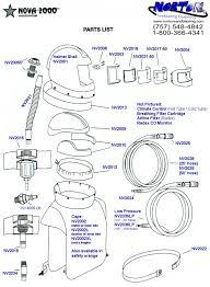 Sandblast Cabinet Parts Nova 2000 Parts Diagram Norton Sandblasting Equipment
