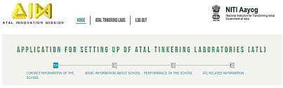 how to apply online for atal tinkering laboratories under atal