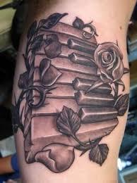 piano keys 3d tattoo google search tattoos pinterest