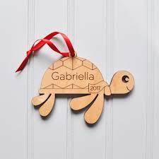 sea turtle wooden ornament graphic spaces