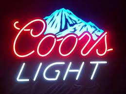 bud light light up sign new coors light led color changing neon beer pub sign light for man