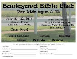 backyard bible club free curriculum the vrugginks in asia
