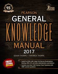 buy the pearson general knowledge manual 2017 book online at low