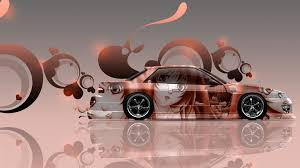 jdm nissan silvia s13 nissan silvia s13 jdm side anime aerography car 2014 el tony