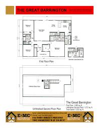 Barrington Floor Plan The Great Barrington Einstein Modular Constuction
