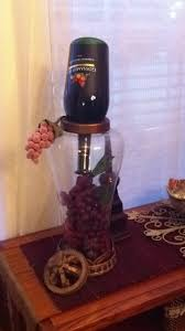 Grapes And Wine Home Decor 33 Best Wine Bottle Decor Images On Pinterest Wine Bottles Decor