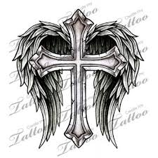 best 25 cross with wings ideas on tattoos with