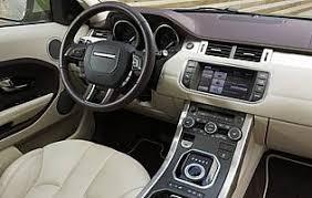 Evoque Interior Photos Car Reviews Land Rover Range Rover Evoque Sd4 Prestige Auto The Aa