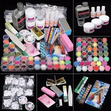 compare prices on acrylic nail professionals set online shopping