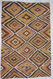 Kilim Area Rug Handwoven Vintage Colourful Decorative Turkish Kilim Area Rug Woveny