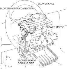 mazda 3 service manual blower motor removal manual air