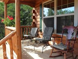 cabin porch frontier log cabin manufactured in pa cozy cabins