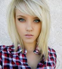 must see choppy layered haircuts for long hair with side bangs