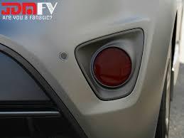 hyundai veloster turbo 2012 2016 hyundai veloster turbo smoked reflector overlays tint