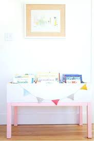 storage bins white bookshelf with storage bins toddler room book