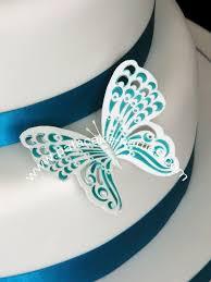 wedding cake jogja 12 best wedding cake blue butterfly images on blue