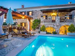 house with swimming pool villa vitamin krk old stone house with swimming pool silo island