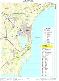 Map Of Cyprus Maps Of Larnaca Larnaka Map Cyprus Net