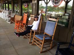 Cracker Barrel Rocking Chair Senior Rv Adventure May 2014