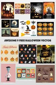 awesome 13 free halloween vector u2013 vector panic