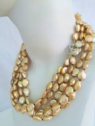 luxury pearl necklace images Chunky pearl necklace luxury jewelry by christine smith jpg