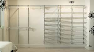 Closetmaid Shelf Track System Wire Closet Organizer Systems Roselawnlutheran
