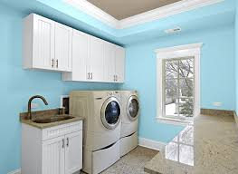 kitchen room glidden cil blue laundry room freshwaterblue modern
