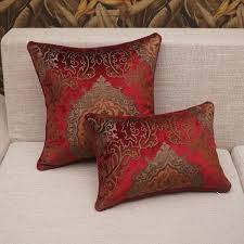 Red Floral Sofa by Cushion Cover Picture More Detailed Picture About Luxury Throw
