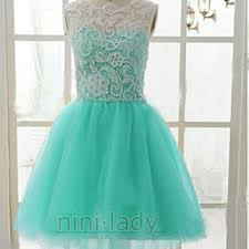 stock formal aqua gowns from nini on ebay