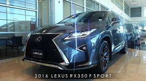 lexus two door for sale 2016 lexus rx350 f sport review interior u0026 exterior walkaround