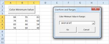 excel vba userform and ranges easy excel macros