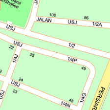 map usj 1 map of 1 jalan usj 1 4p 47500