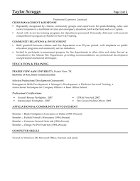 Sample Resume For Daycare Worker by Cpr Instructor Cover Letter