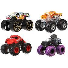 wheels monster jam tour favorites vehicle 4 pack 3 dmk91