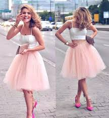 tulle skirt bridesmaid 2016 instock cheap summer tiered tutu skirt tulle bridesmaid