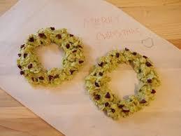 how to make cornflake wreath cookies youtube