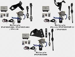 polaris ranger ez steer power steering kit by super atv