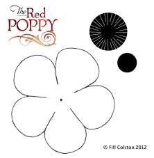 klaproos art and inspiration pinterest poppy template